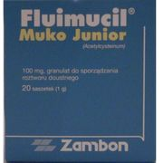 FLUIMUCIL MUKO JUNIOR 100 mg 20 saszetek