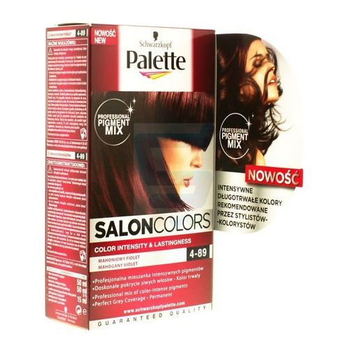 PALETTE Salon Colors Farba do Włosów Nr 4-89 Mahoniowy Fiolet