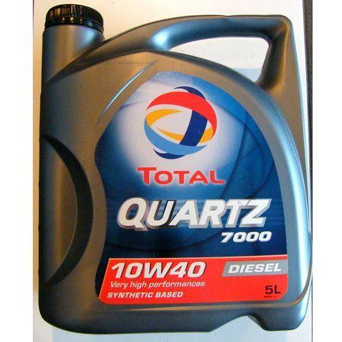 Olej Total 7000 10W40 Diesel 5 litrów