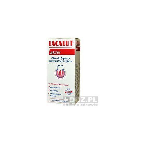 Lacalut activ, płyn, do płukania ust, 300 ml