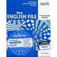 New English File Pre-Intermediate Workbook + CD [opr. broszurowa]