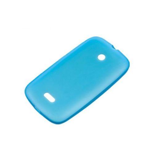 Etui Silikonowe Nokia CC-1055 Cyan do Lumia 510
