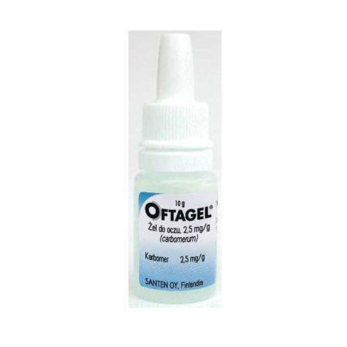 Oftagel żel do oczu 2,5 mg/g 10 g