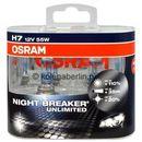 Osram H7 NightBreaker UNLIMITED + 110% światła (duo pack)