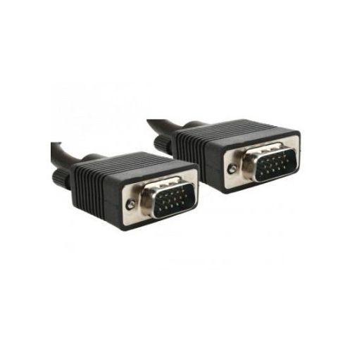 Kabel VGA 15M/15M EKRAN+FERRYT 1.8M BLACK