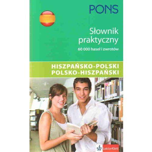 PONS Słownik praktyczny hiszpańsko-polski polsko-hiszpański [opr. miękka]