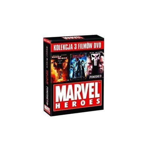 Ghost rider, Hellboy, Punisher (3 DVD)