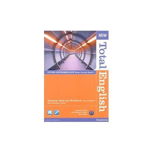 New Total English Upper Intermediate Flexi Course Book 1 [opr. miękka]