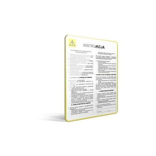 Instrukcja BHP przy obsłudze sitopiaskownika w oczyszczalni ścieków