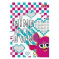 Brulion A5 Furby w kratkę 96 kartek A mind of its own